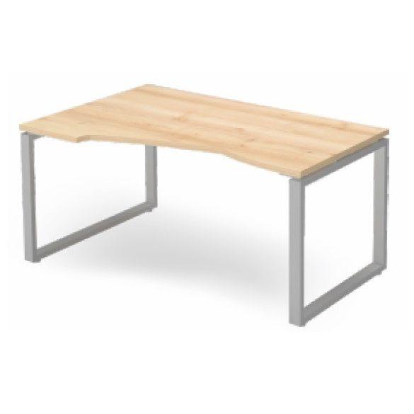 EX HA 178/100 fémlábas íróasztal balos kivitelben