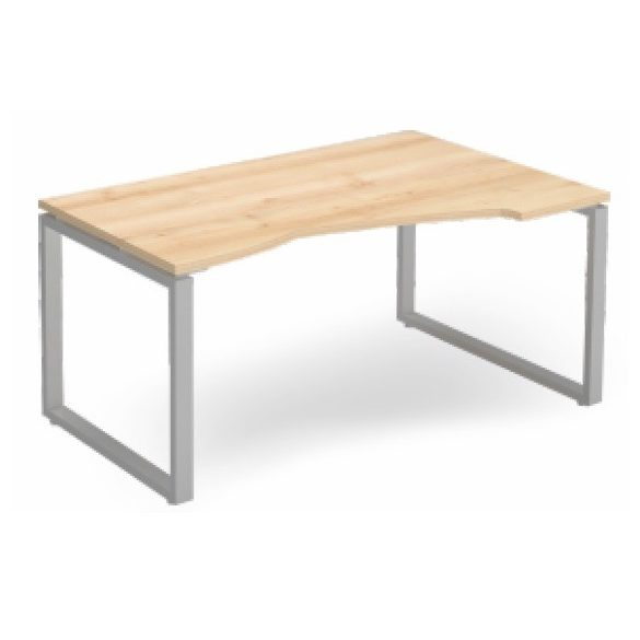 EX HA 178/100 fémlábas íróasztal jobbos kivitelben