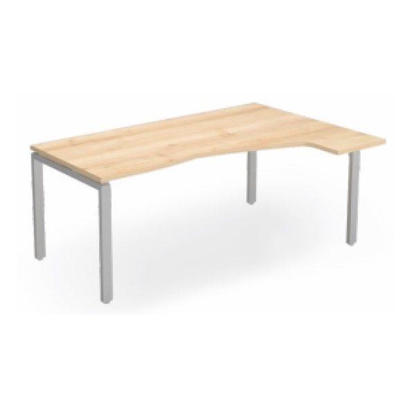 EX HC 158/100 fémlábas íróasztal jobbos kivitelben