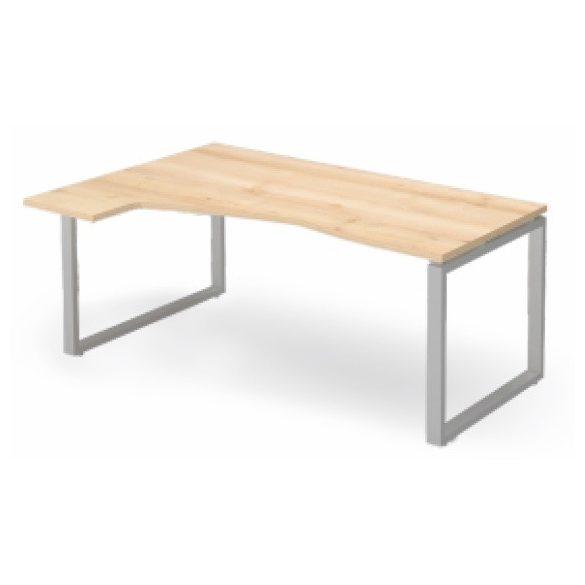 EX HC 198/120 fémlábas íróasztal balos kivitelben