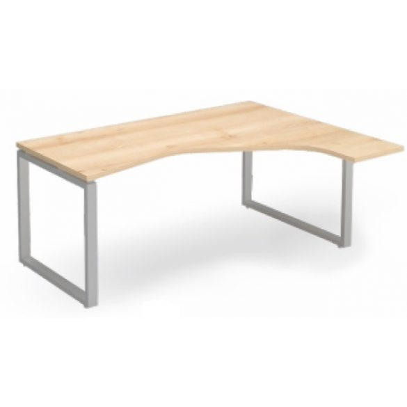 EX HE 198/140 fémlábas íróasztal balos kivitelben
