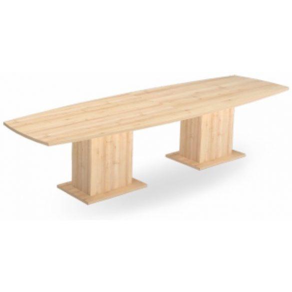 EX TBK 320/100 íves laplábas tárgyalóasztal