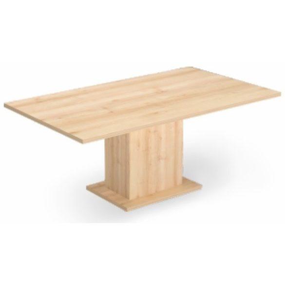 EX TCK 118/100 szögletes laplábas tárgyalóasztal