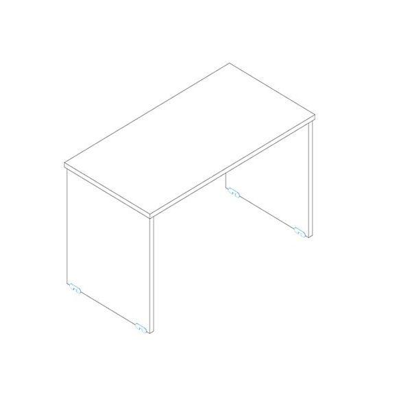 IS 200/80 sarkos íróasztal