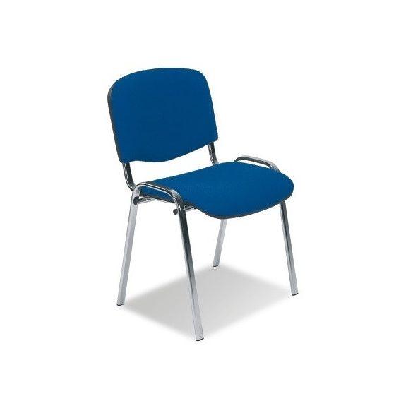 T - ISO króm vázas szék - szövet kárpittal
