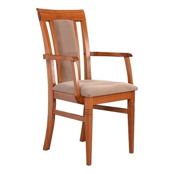 J - Andrea tömörfa karfás szék választható kárpittal