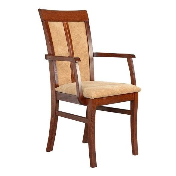 J - Eszter tömörfa karfás szék választható kárpittal