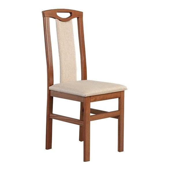 J - Eva tömörfa szék választható kárpittal