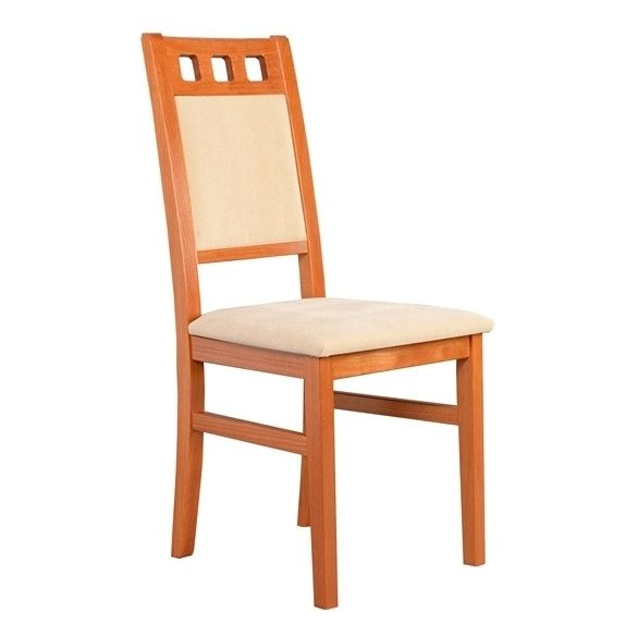 J - Melinda tömörfa szék választható kárpittal