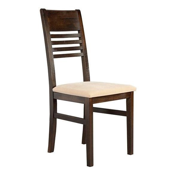 J - Mónika tömörfa szék választható kárpittal