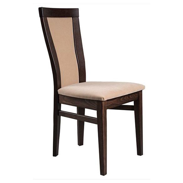 J - Petra tömörfa szék választható kárpittal