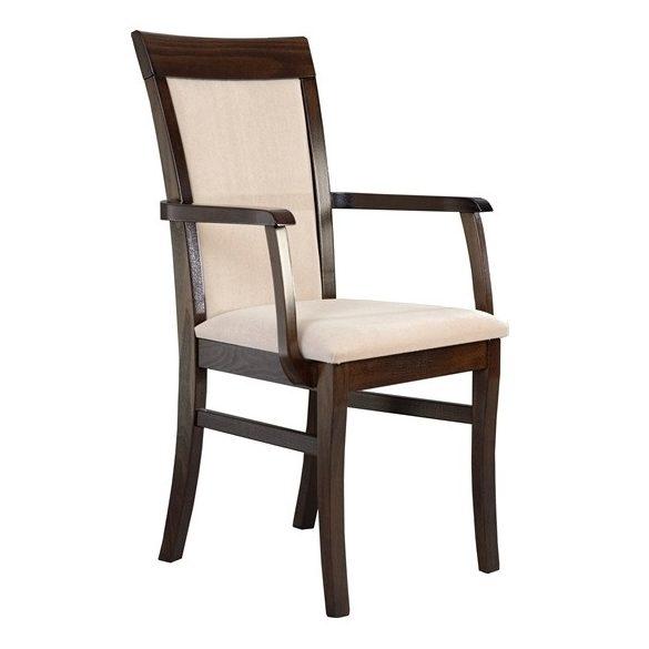 J - Szandra tömörfa karfás szék választható kárpittal