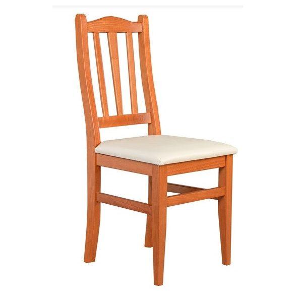 J - Varia pálcás tömörfa szék választható kárpittal
