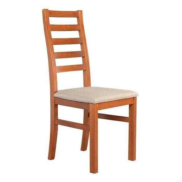 J - Viki tömörfa szék választható kárpittal