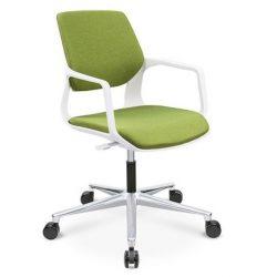 L - Aria roll forgószék - zöld színben