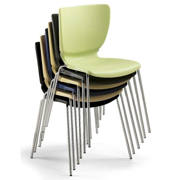 L - Mono colorplast szék