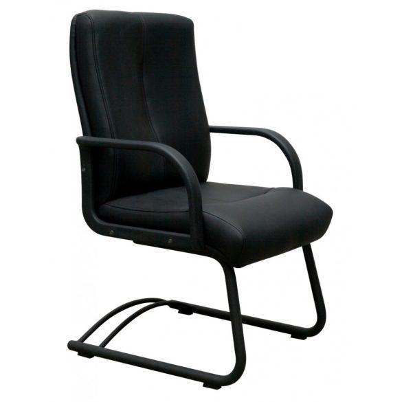 L - Split visitor szánkótalpas szék