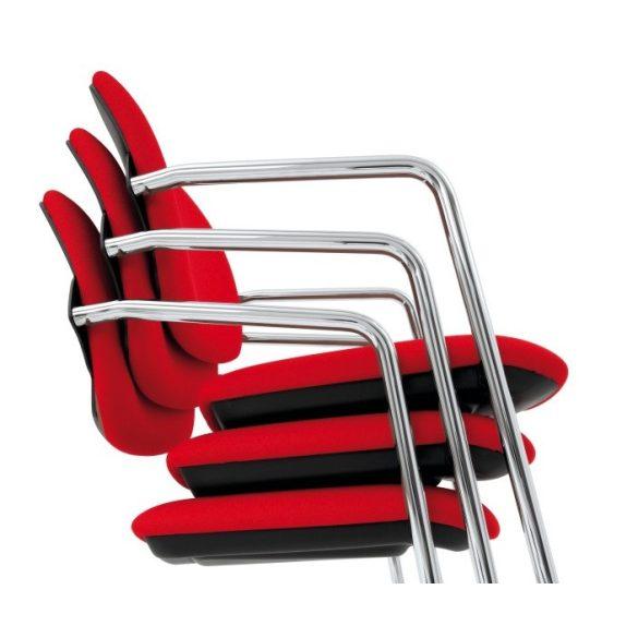 L - Steve ST crom szánkótalpas szék