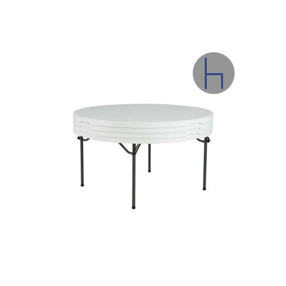 M - Catering összecsukható és rakásolható rendezvény körasztal ø 152 cm (280301)
