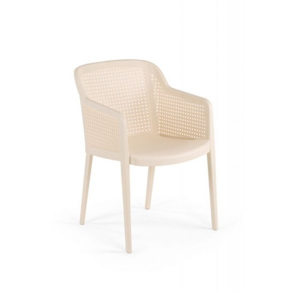 M - Carlo kültéri szék - szürke színben