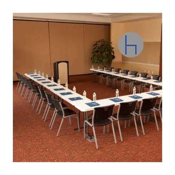 M - Catering összecsukható és rakásolható rendezvény asztal 183x46 cm (80176)