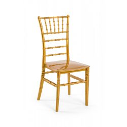 M - Chiavari esküvői szék - arany színben