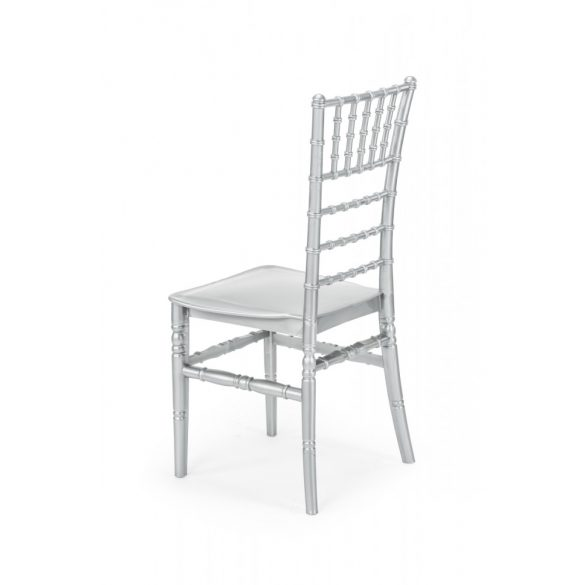 M - Chiavari esküvői szék - ezüst színben