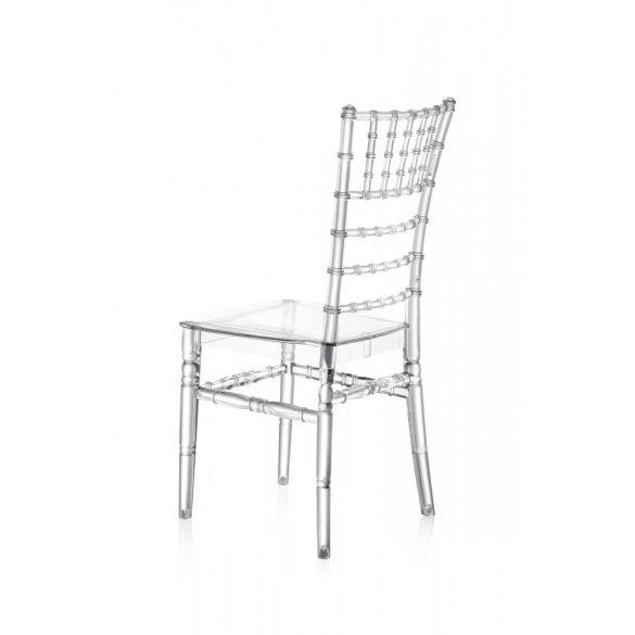 M - Chiavari esküvői szék - polikarbonát