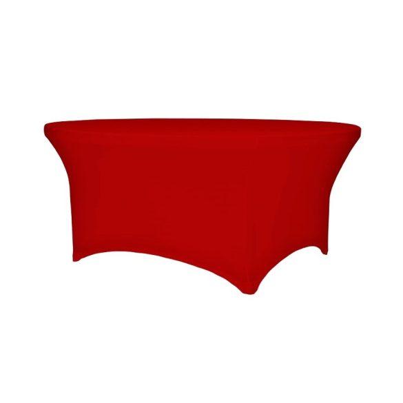 M - Flex HIT asztalszoknya - piros színben
