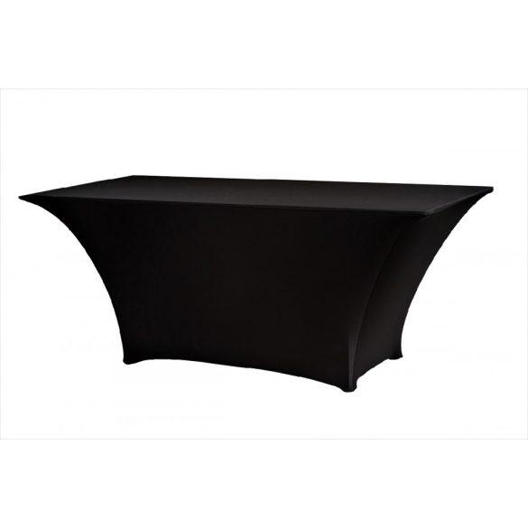 M - Flex LUX PR asztalszoknya - fekete színben