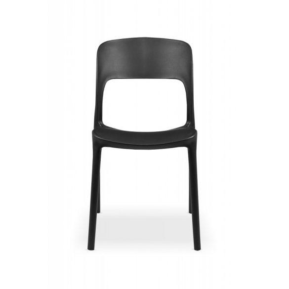 M - Havanna kültéri szék - fekete színben