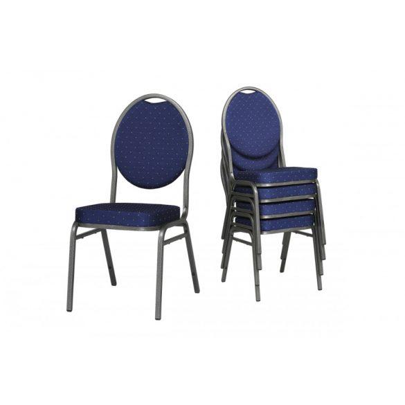 Bankett tárgyalószék -  kék színben