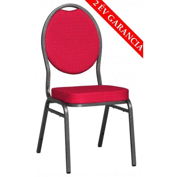 Bankett tárgyalószék - piros színben
