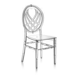 M - King esküvői szék - polikarbonát