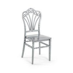 M - Lord esküvői szék - ezüst színben