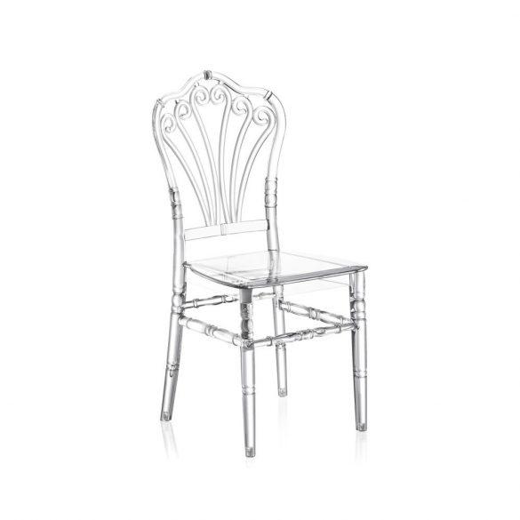 M - Lord esküvői szék - polikarbonát