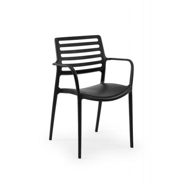 M - Luca kültéri szék - beige színben