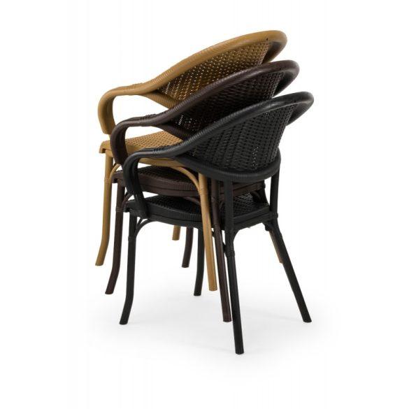 M - Marco kültéri szék - wood színben