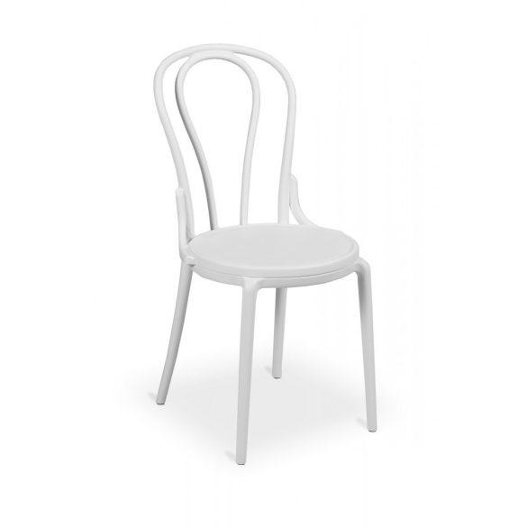 M - Monet kültéri szék - fehér színben