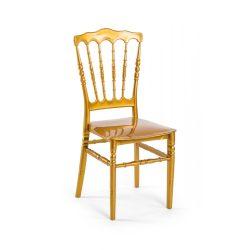 M - Napoleon esküvői szék - arany színben