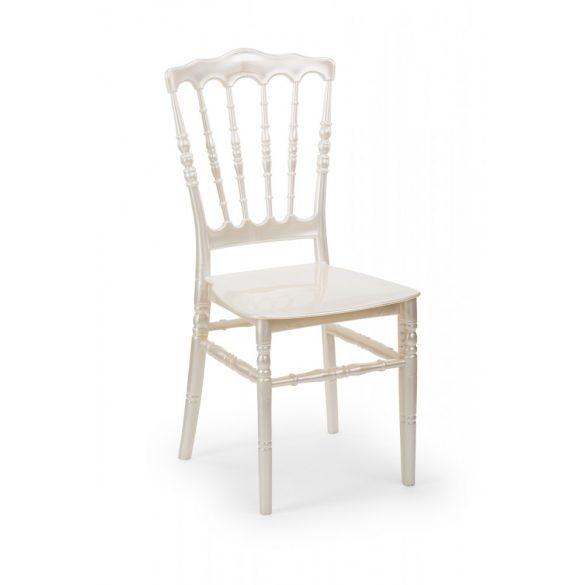 M - Napoleon esküvői szék - beige színben