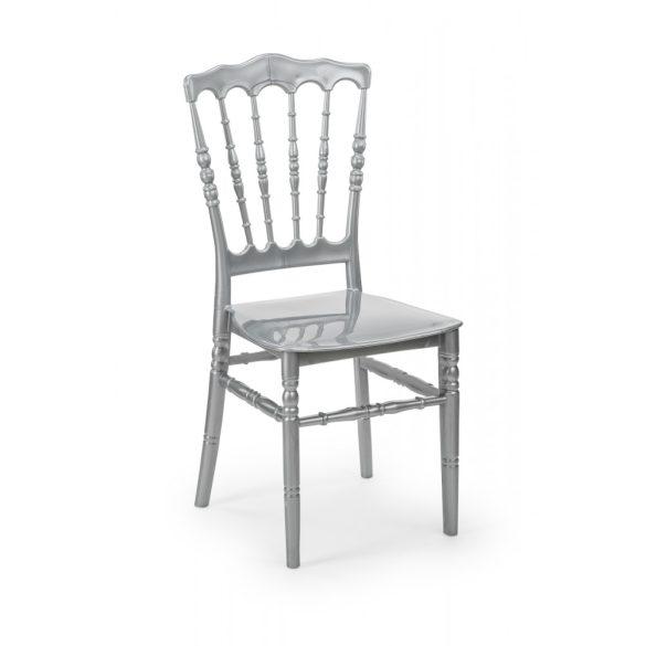 M - Napoleon esküvői szék - szürke színben