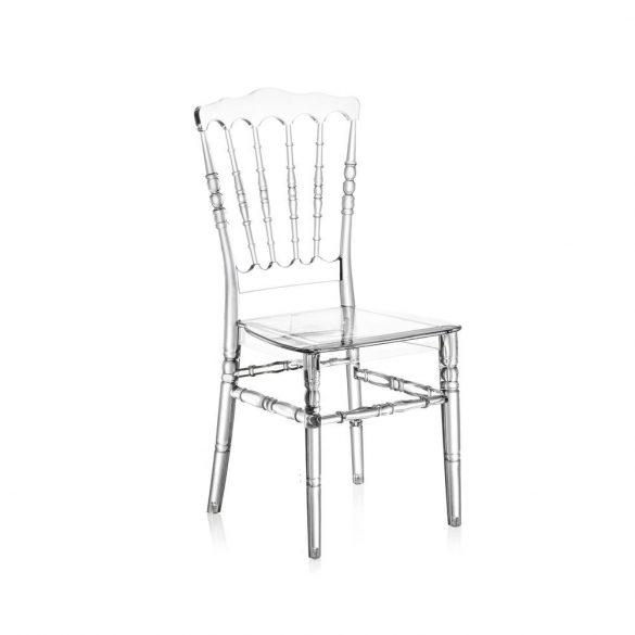 M - Napoleon esküvői szék - polikarbonát