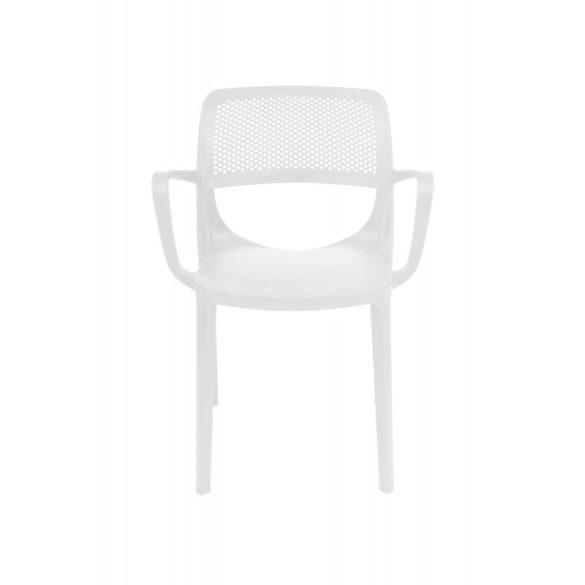 M - Nicole kültéri szék - cappuccino színben