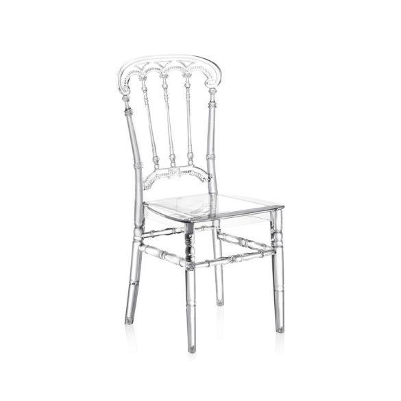 M - Queen esküvői szék - polikarbonát
