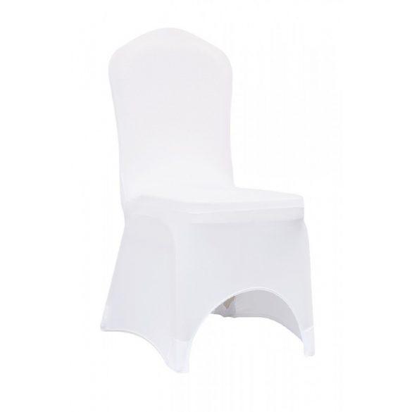 M - Slimtex 200 székszoknya - fehér színben