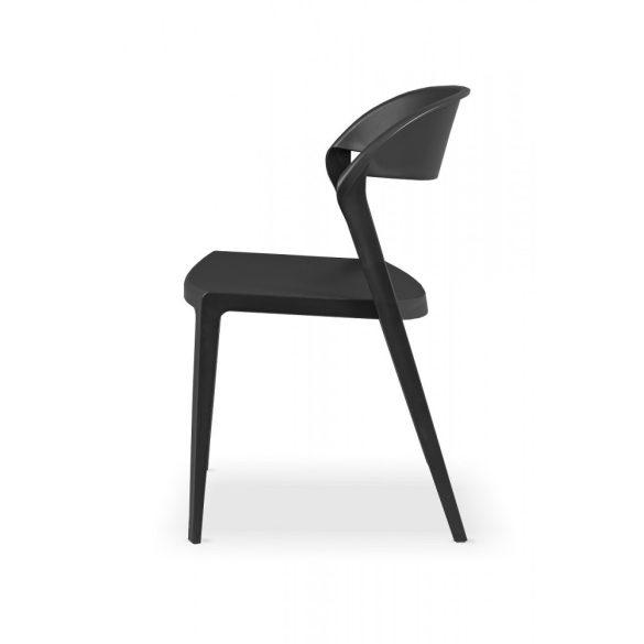 M - Tokyo műanyag szék - fehér színben