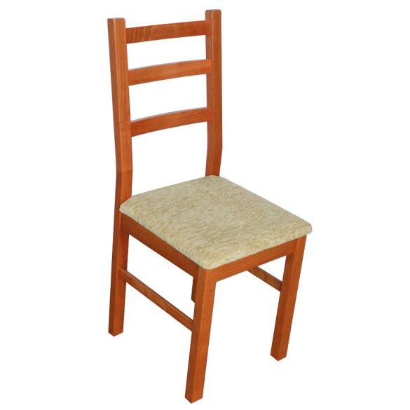 S - Panna fa szék választható kárpittal