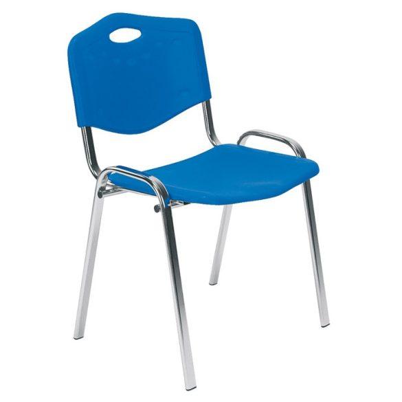 T - ISO króm vázas műanyag szék