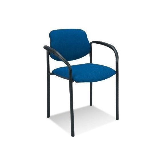 T - Styl karfás rakásolható szék - kék színben